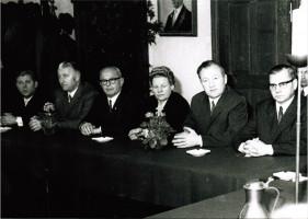 SPD-Stadträte (1966) Foto: Helmut Wohner