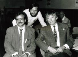 Maifeier mit Hans Mühlfenzl und Otto Schily