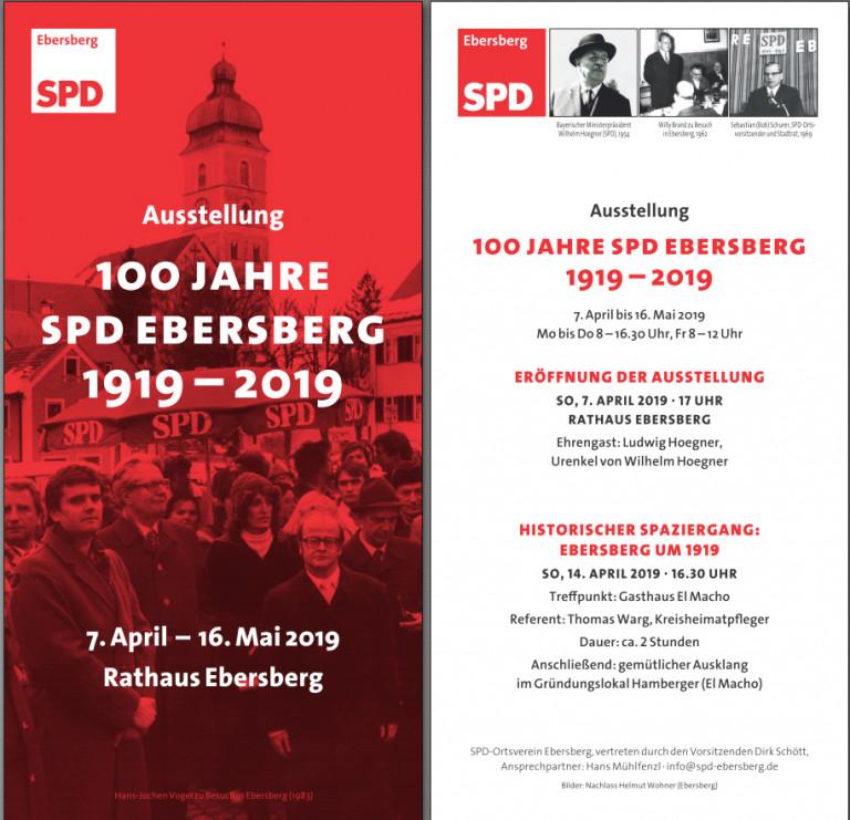 Flyer 100 Jahre OV